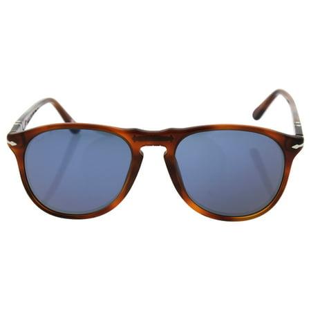 Persol PO9649S 96/56 - Terra di Siena/Blue by Persol for Men - 52-18-145 mm Sunglasses