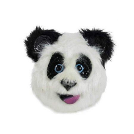 Halloween Online Fun (Unisex Adult Panda Bear Zoo Animal Fun Furry Mask Halloween Costume)