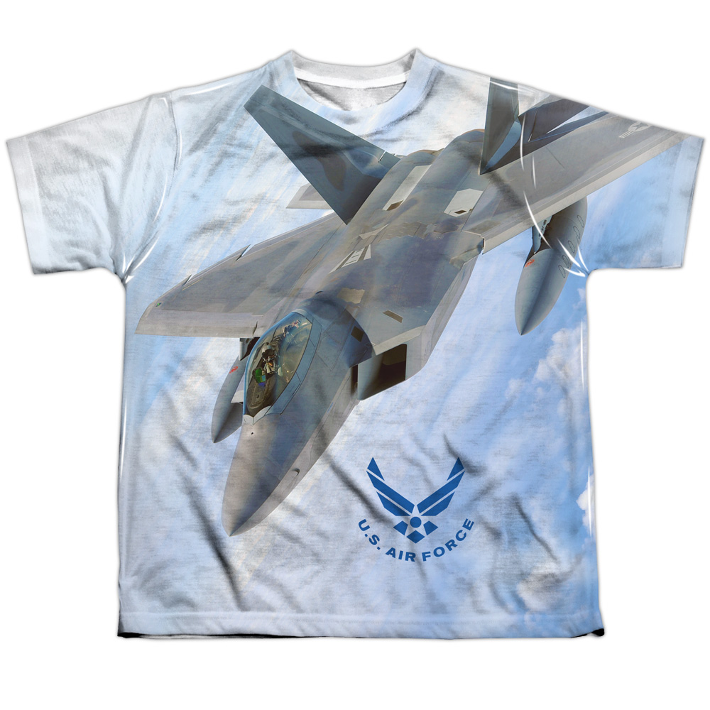 Air Force Fly By Big Boys Sublimation Shirt