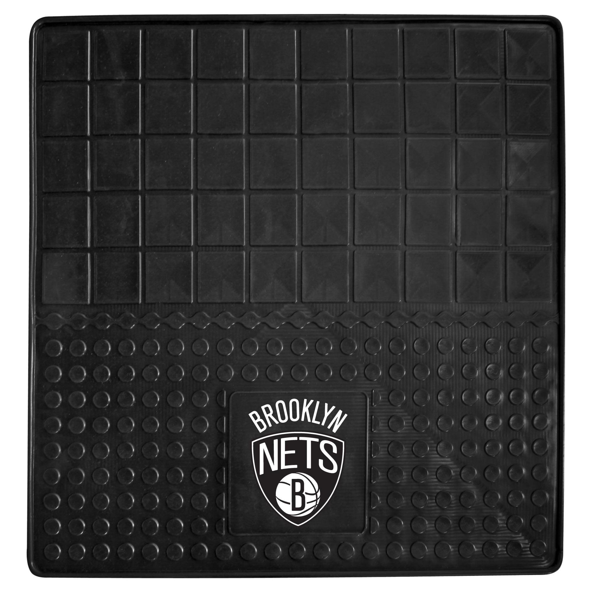 NBA Brooklyn Nets Heavy Duty Vinyl Cargo Mat for Car Trunk
