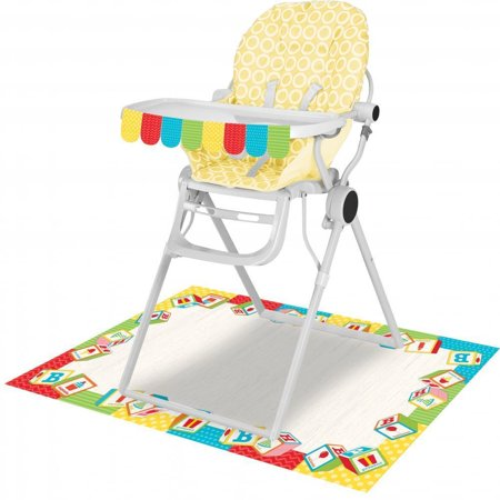 ABC Birthday High Chair Kit ()