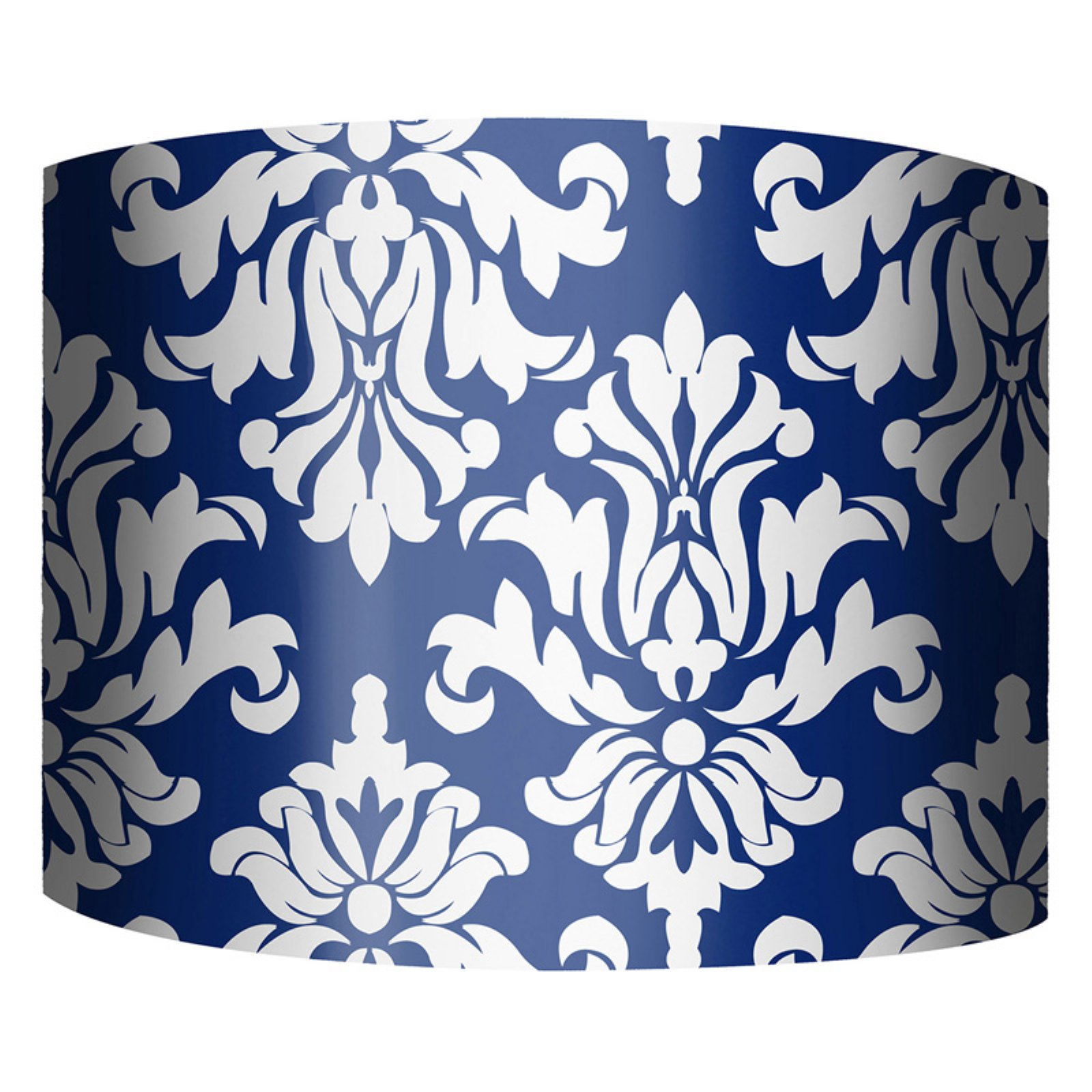 PTM Images Damask B Drum Lamp Shade