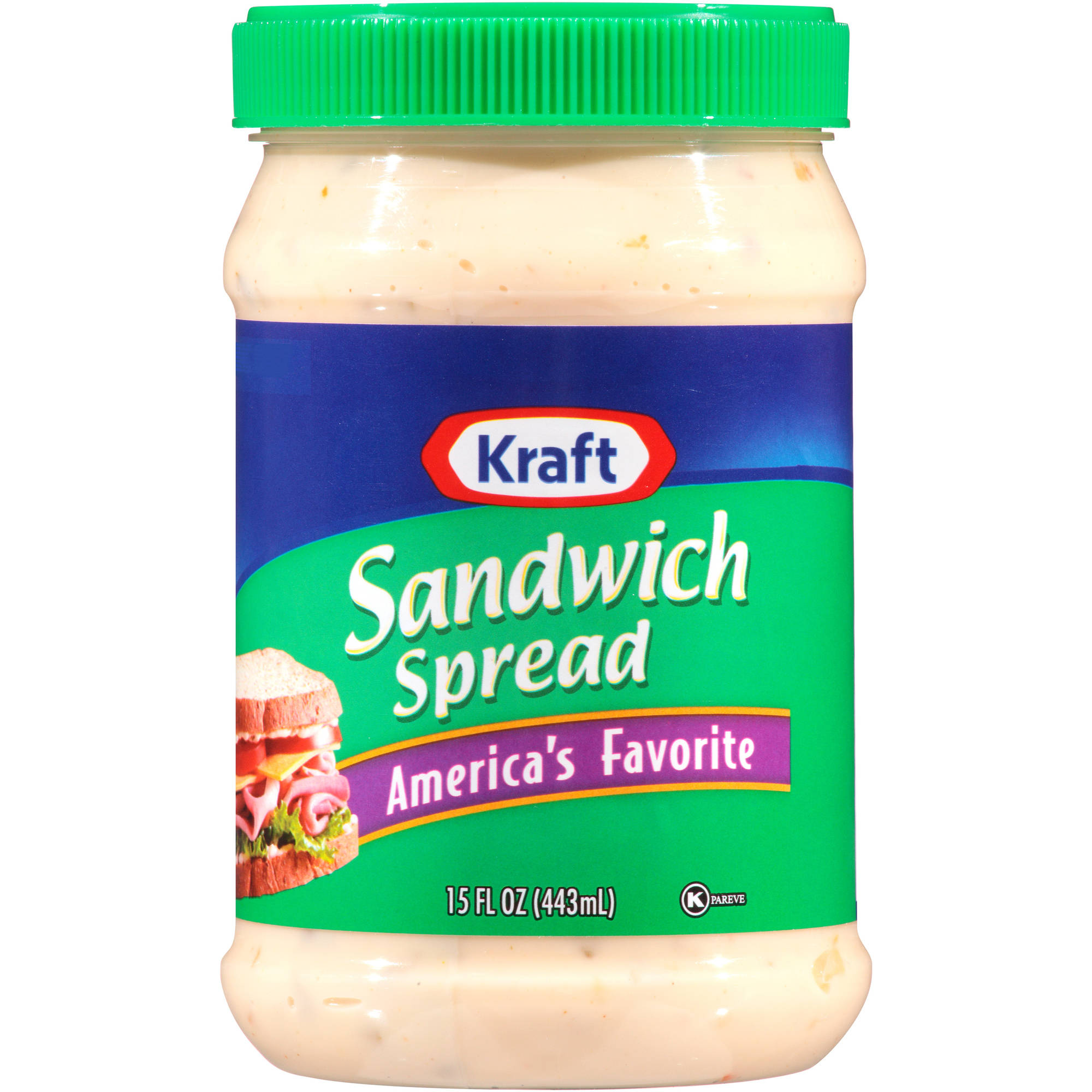 Kraft Miracle Whip Sandwich Spread, 15 oz