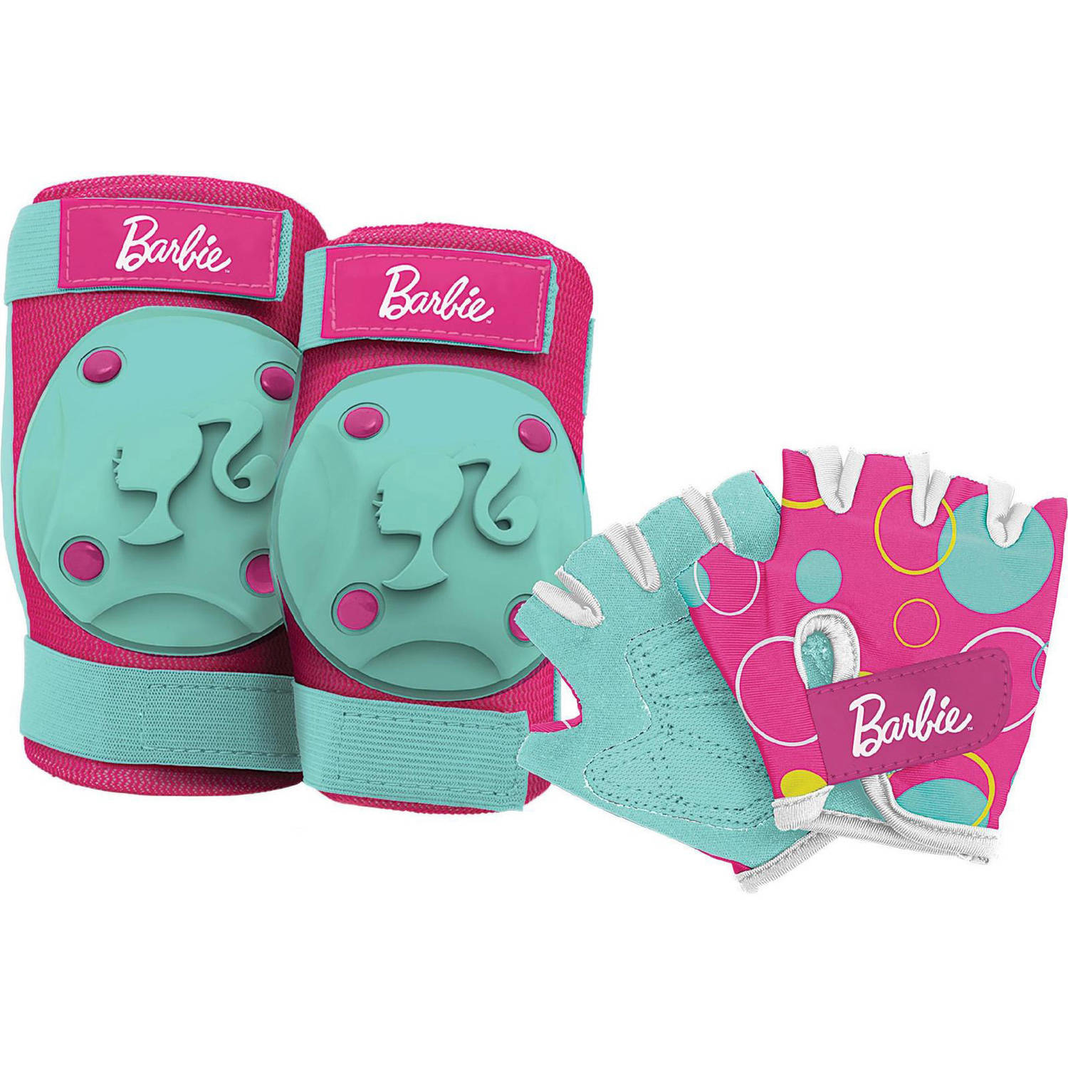 Bell Sports Barbie Pad and Glove Set