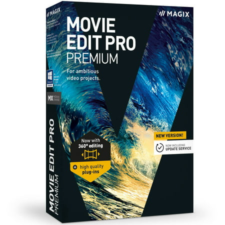 Sound Editing Software - Magix Software ANR005983ESD Magix Movie Edit Pro Premium ESD (Digital Code)