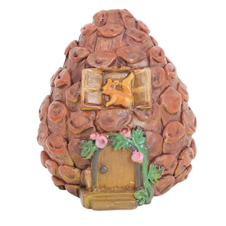 Garden Micro Landscape Home Garden Decoration Crafts Miniature Fairy Garden With Pumpkin room , Pinecone house ,Mushroom Fort decoration](Mushroom Decorations)