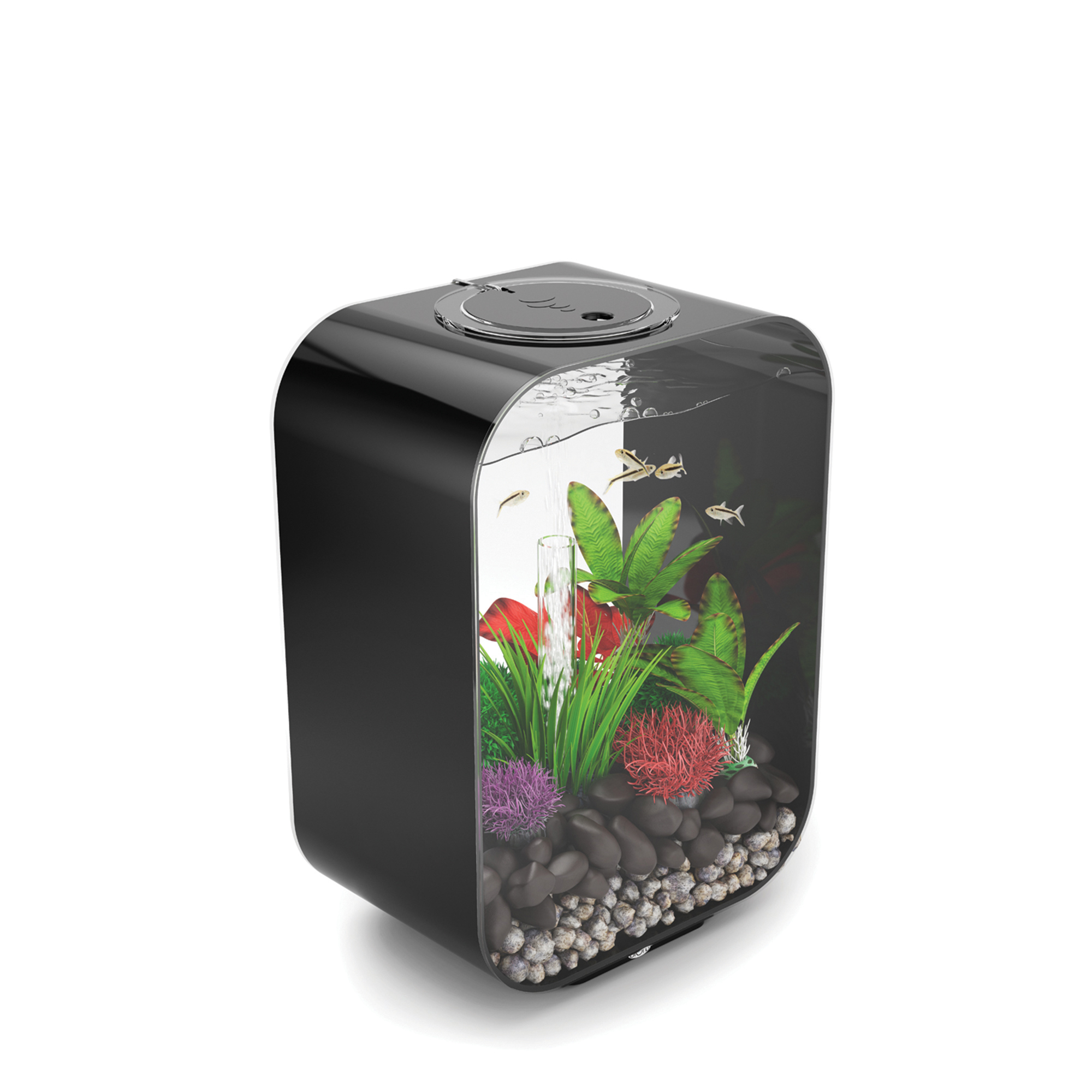 biOrb LIFE 15-Liter LED Aquarium, Black