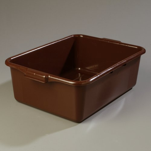 Carlisle Food Service Products Comfort Curve  Resin Bus Plastic Storage Totes (Set of 12)