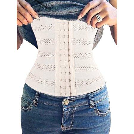 ece309835d9 SAYFUT - SAYFUT Women Breathable Body Shaper Ultra Firm Control Shapewear  Tummy Slimmer Waist Trainer Cincher Underbust Corset - Walmart.com