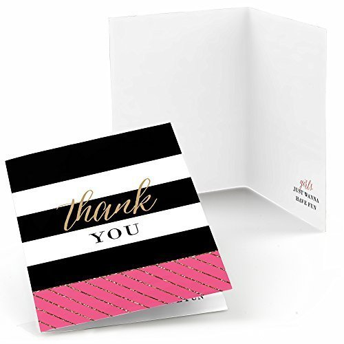 Girls Night Out - Bachelorette Party Thank You Cards (8 count)