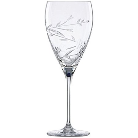 L By Floral Bouquet Goblet, Crafted of fine Lenox crystal By Lenox