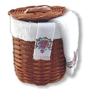 Dollhouse Laundry Basket