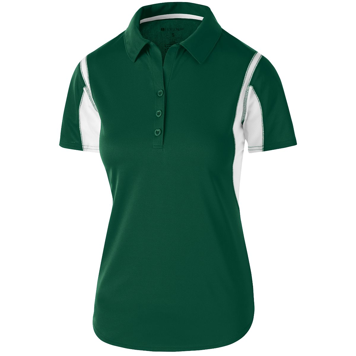 Holloway Ladies Integrate Polo For/Whi 3Xl - image 1 of 1