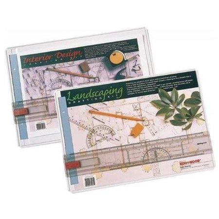 Koh I Noor 522130int Interior Design Draft Kit White