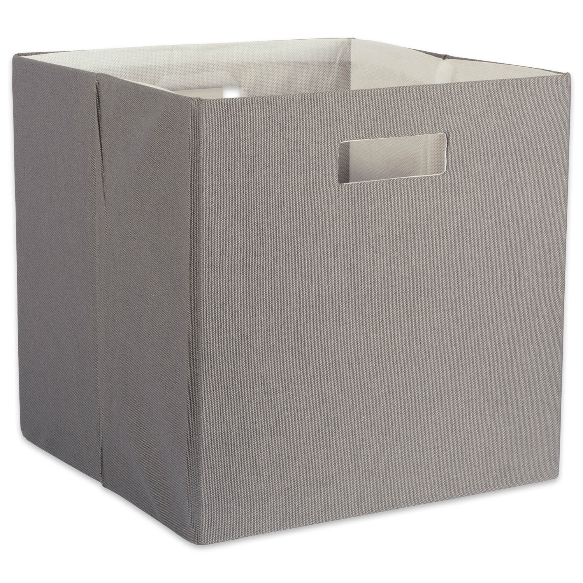 Ordinaire DII Hard Sided Collapsible Fabric Storage Container For Nursery, Offices, U0026  Home Organization, Containers Are Made To Fit Standard Cube Organizers ...