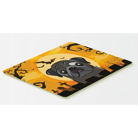 Halloween Black Pug Kitchen or Bath Mat 20x30 BB1821CMT