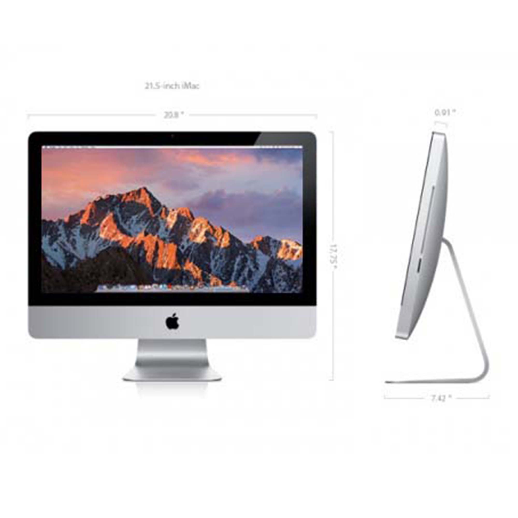 "21"" Apple iMac 2.7GHz i5 16GB Memory / 1TB HDD (Turbo Boost to 3.2GHz) - Refurbished"
