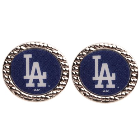 Los Angeles Dodgers WinCraft Women's Round Post Earrings - No Size