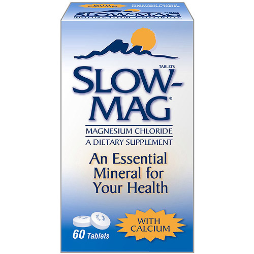 Slow-Mag A Dietary Supplement Magnesium Chloride 1 CT