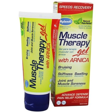 4 Pack - Hyland's Muscle Therapy Gel Arnica 3 oz