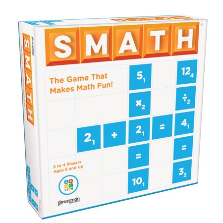 Pressman Smath Stem Game Ages 6 and Up