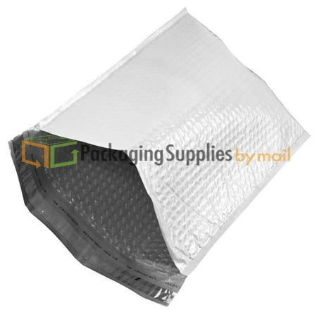 300 Poly Bubble Mailer Bags 9 5   X 14 5      4 Pouches Envelopes White Self Sealing