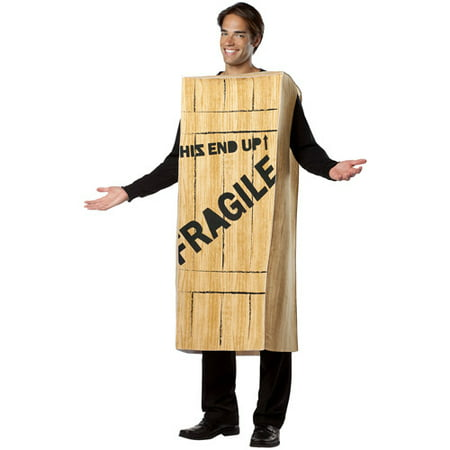 Christmas Story Fragile Adult Costume - One Size](Toy Story Hamm Costume For Adults)