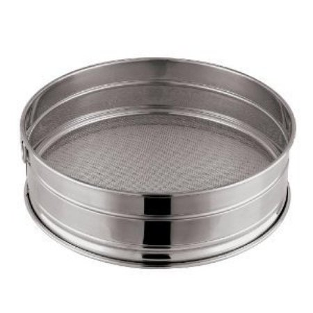 Paderno World Cuisine 8-5/8-Inch Stainless-Steel Medium Mesh Flour Sieve