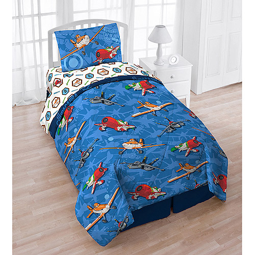 Jay Franco And Sons 12440737 Disney Planes Twin Bedding Set Airplane Comforter Sheets