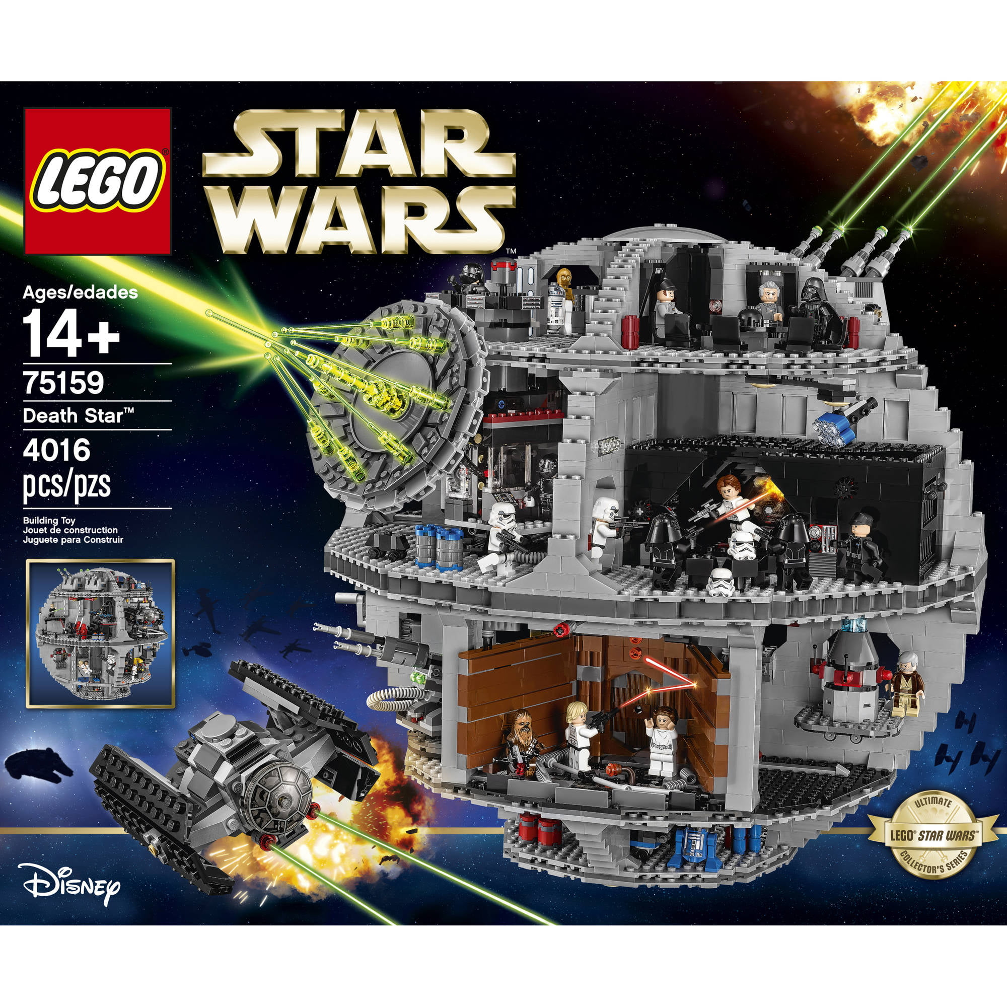 Lego Star Wars Death Star 75159 673419041669 Ebay