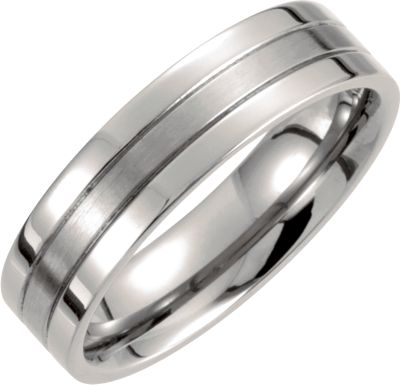 6.0mm Titanium Band - Size 13