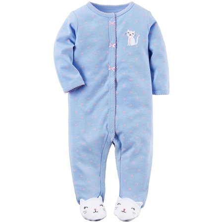 91493806b2 Carter s Baby Girls  Cotton Sleep and Play
