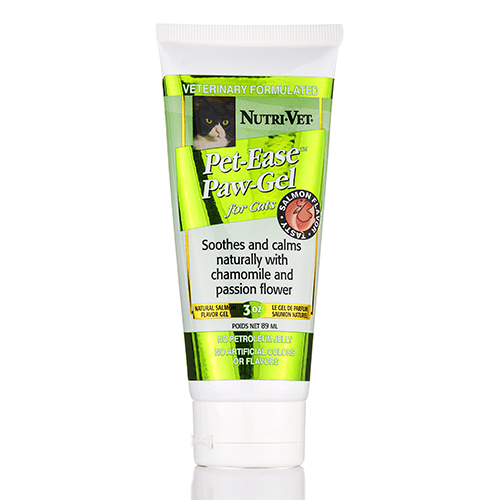 Pet-Ease Paw-Gel for Cats (Salmon Flavor) - 3 oz (89 ml) by Nutri-Vet