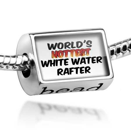 Bead Worlds hottest White Water Rafter Charm Fits All European Bracelets (Womens Rafters)