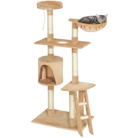 Wholesale Domestic Delivery Cat Toys Swinging The Ball Furniture&Scratchers Cat Tree House