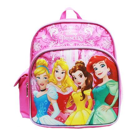Mini Backpack - Disney - Princess - Cinderella Aurora Bella & Ariel New A08430 - Disney Princess Light Up Backpack