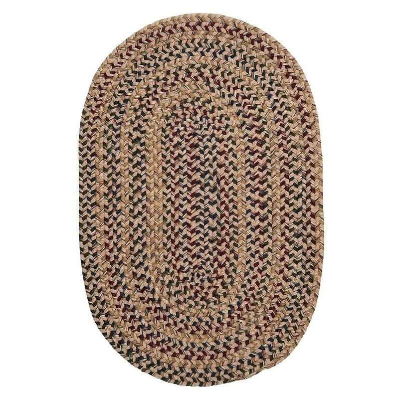 Colonial Mills Comfort Multicolor Wool Nylon Braided Rug (10' x 12') by Overstock