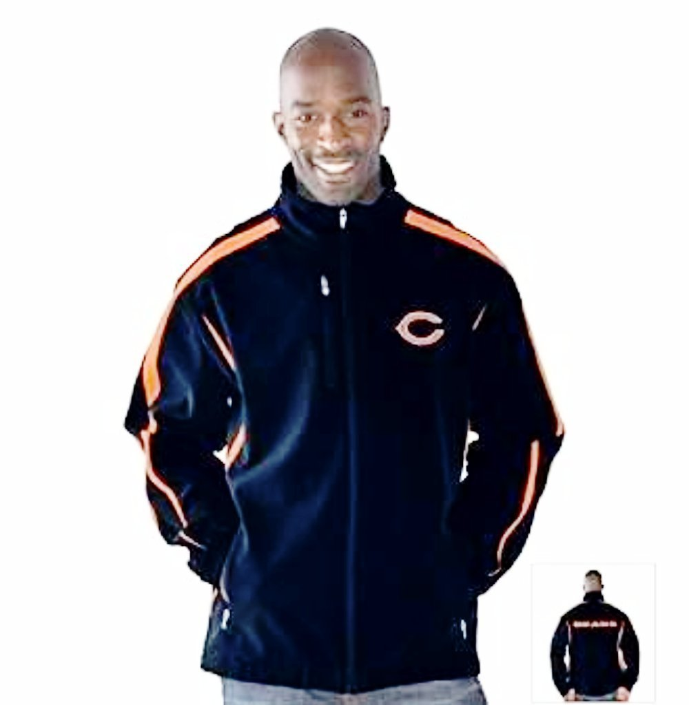 Chicago Bears 3 Layer Soft Shell Jacket by G-III Sports