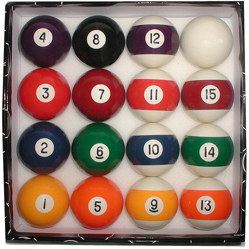 Deluxe Billiard Pool Balls Set