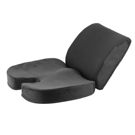 Keepgy Portable Comfortable Home Office Seat Cushion Memory Foam Car Chairs Seats Massage Cushion Back Pain Relief Accessory
