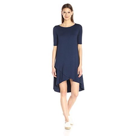Night Iris - Three Dots Women's Olya a, Night Iris, Large