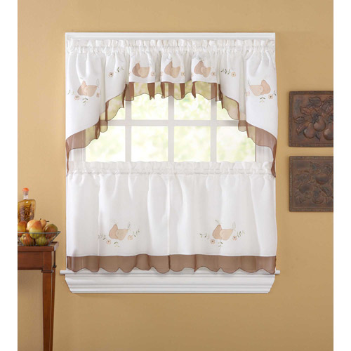 CHF & You Anjou Pear Curtain Panel, Set of 2