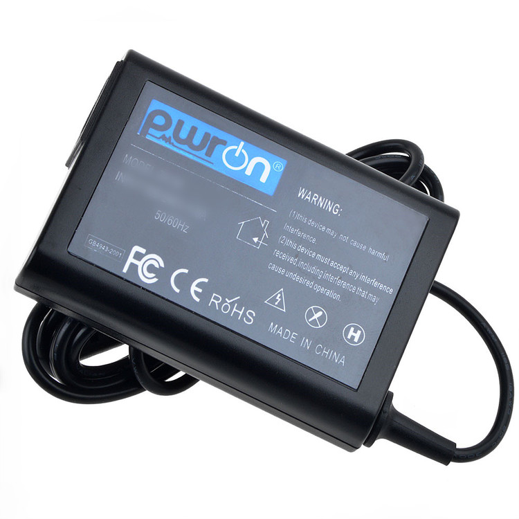 "PwrON 65W Slim Design AC Adapter for Dell - XPS 18 18.4"" Portable Touch-Screen All-In-One Computer - XPSO18-2727BLK, Dell - XPS 18.4"" Portable Touch-Screen All-In-One Computer - XPSO18-2736BLK"