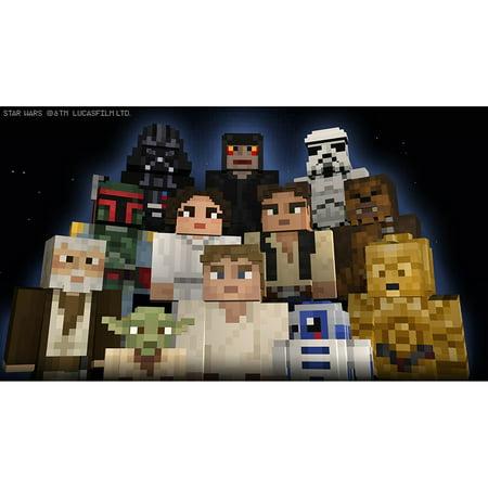 Minecraft  Wii U Edition Dlc   Star Wars Classic Skin Pack  Digital Download Code