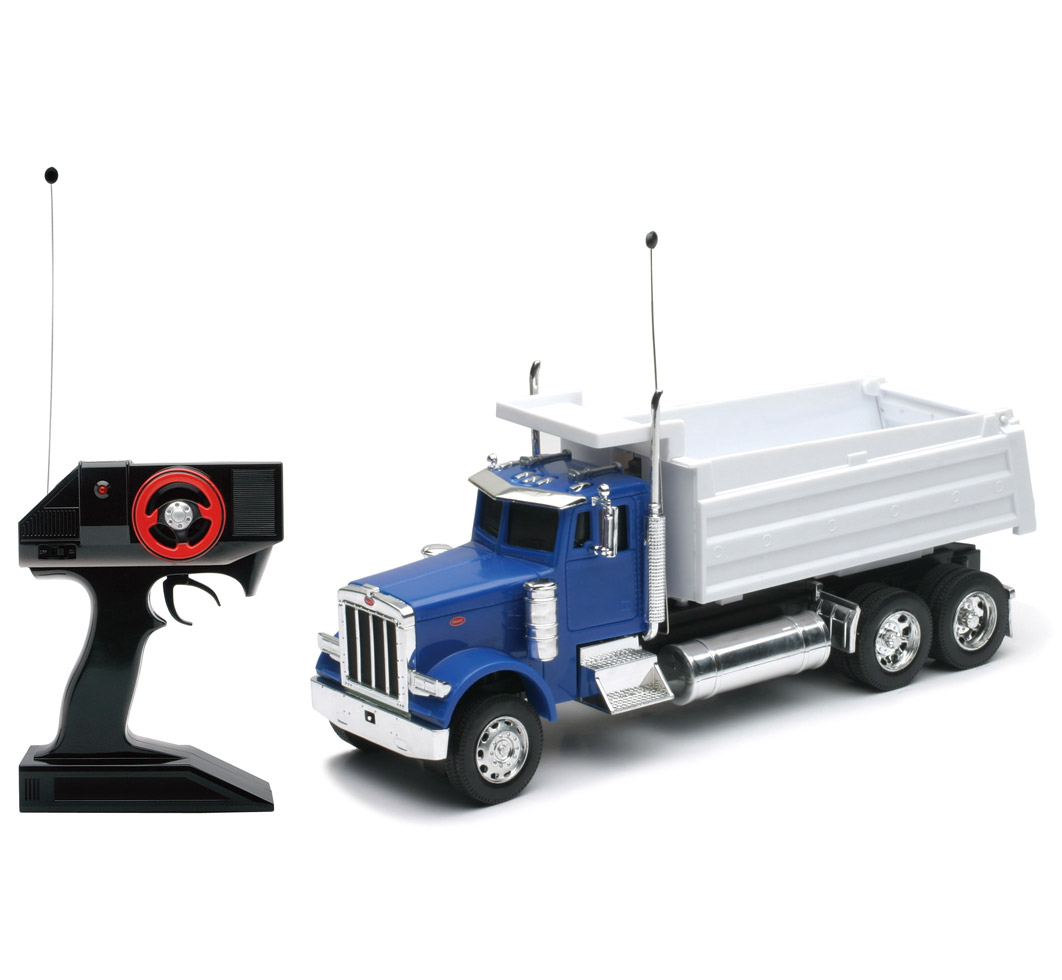 1:32 Scale Radio Remote Controlled R C Peterbilt 379 Dump Truck RC RTR by New-Ray Toys Inc