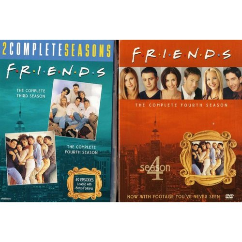Friends: The Complete Third And Fourth Seasons (Full Frame)