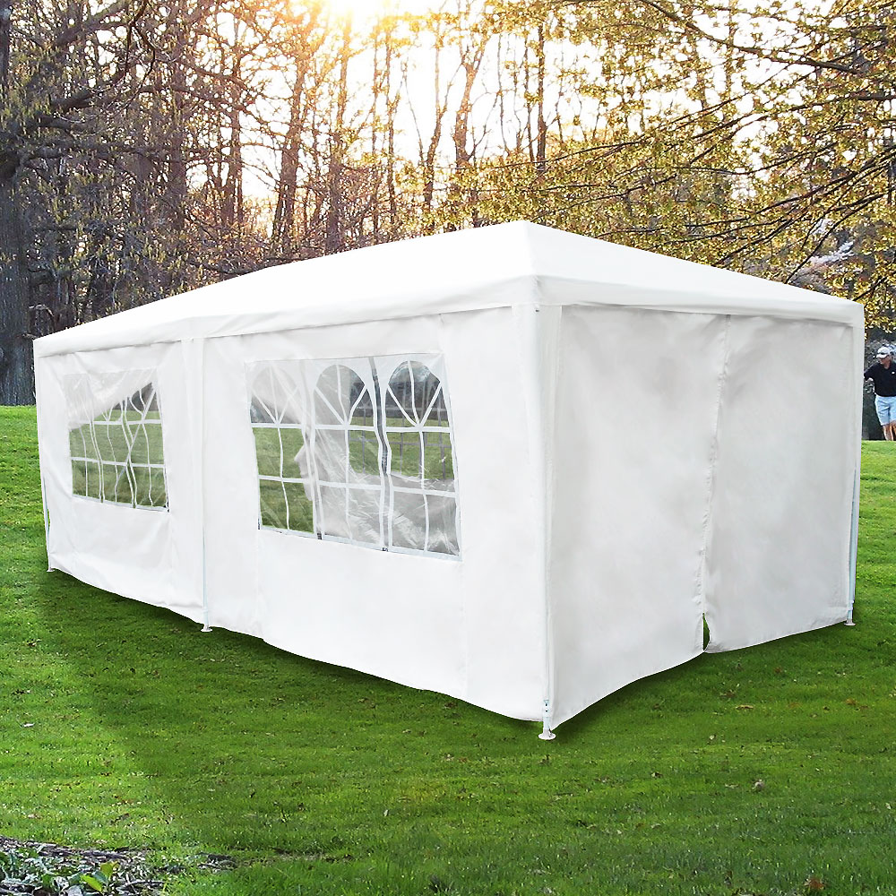 Loadstone Studio 10 X 20 White Canopy Party Outdoor Wedding Tent Easy up Gazebo Pavilion Cater Events  WMLS2171 - Walmart.com & Loadstone Studio 10 X 20 White Canopy Party Outdoor Wedding Tent ...