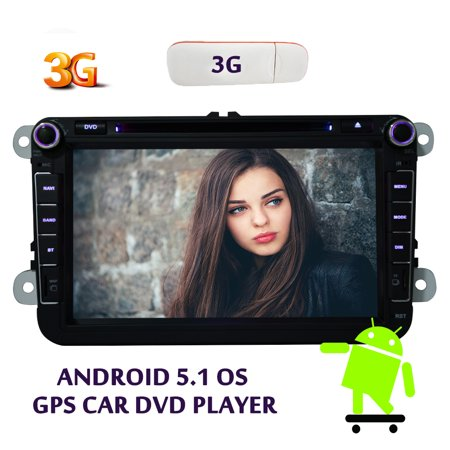 EinCar Free 3G dongle included Quad Core In Dash Autoradio Car Navigation 2 Din Car DVD Player Stereo HD... by