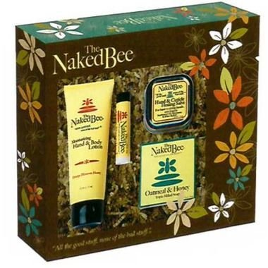 Bee Moisturizing Orange Blossom Honey - The Naked Bee Orange Blossom Honey Gift Box