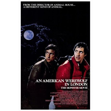 Pop Culture Graphics MOVAF3396 An American Werewolf In London Movie Poster Print 27 X 40